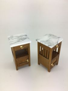 Arts & Craft Bedside table